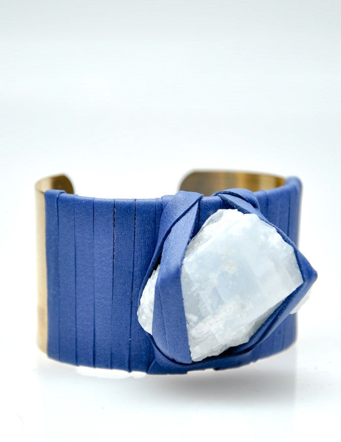 Wrapped Mineral Cuff - LEIF