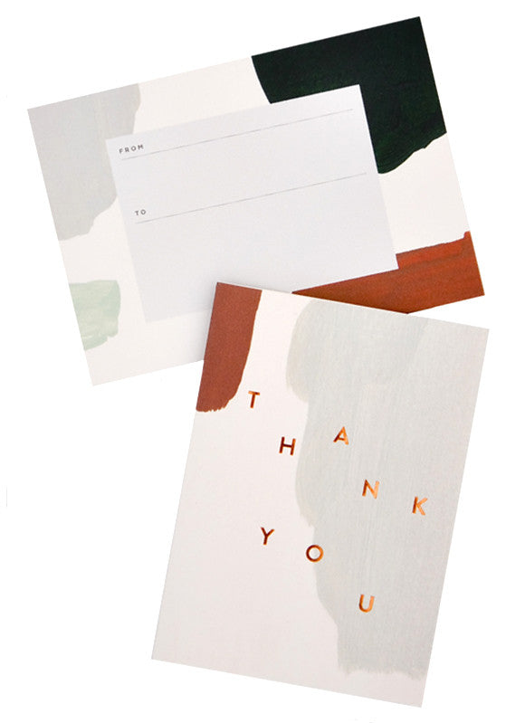 Muted Thank You Card Set - LEIF