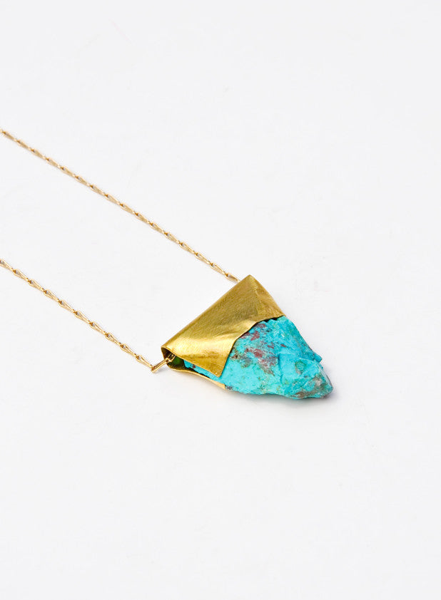 Chrysocolla Necklace - LEIF