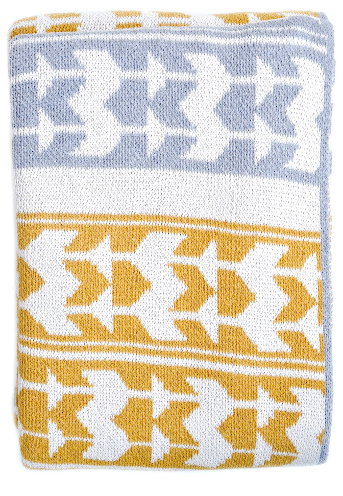 Tribe Print Throw - LEIF