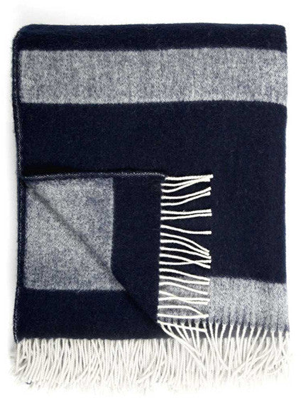Striped Wool Throw - LEIF