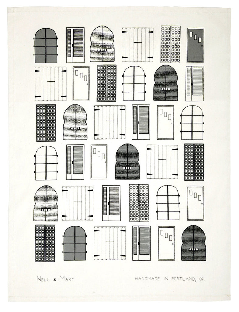 Doors Tea Towel - LEIF