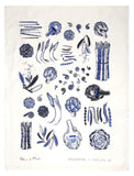 Vegetables Tea Towel - LEIF