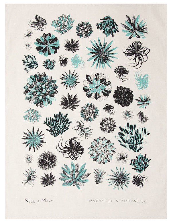 Succulents Tea Towel - LEIF