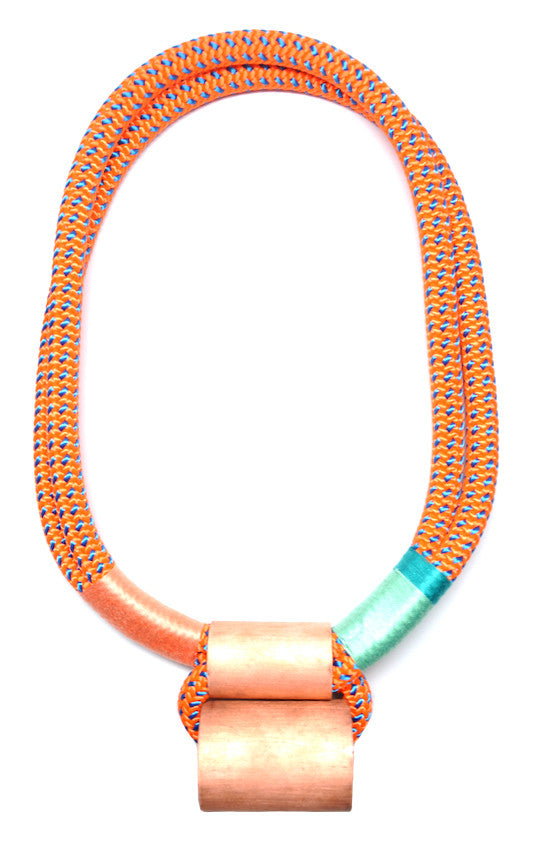Neon Climbing Rope Ladder Necklace - LEIF