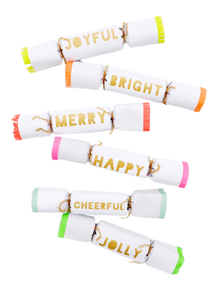 Neon Joy Party Crackers - LEIF