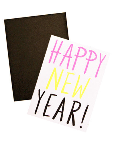 Neon New Year Card Set - LEIF