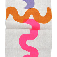 Neon Squiggle Table Runner - LEIF