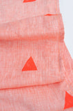 Neon Triangles Table Runner