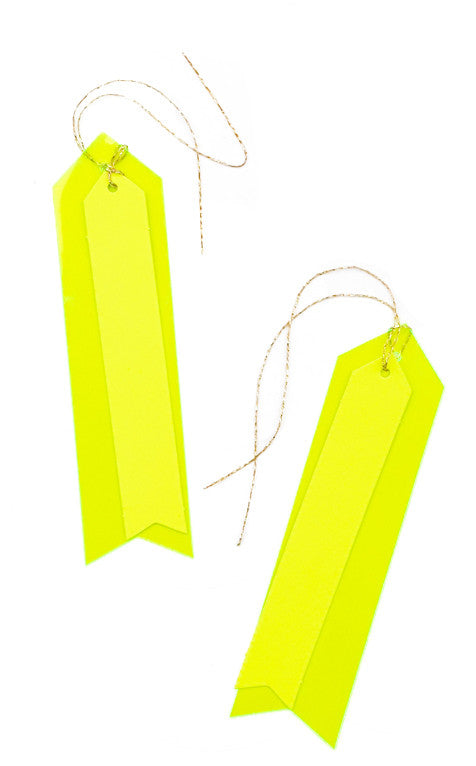 Neon Vinyl Gift Tags - LEIF