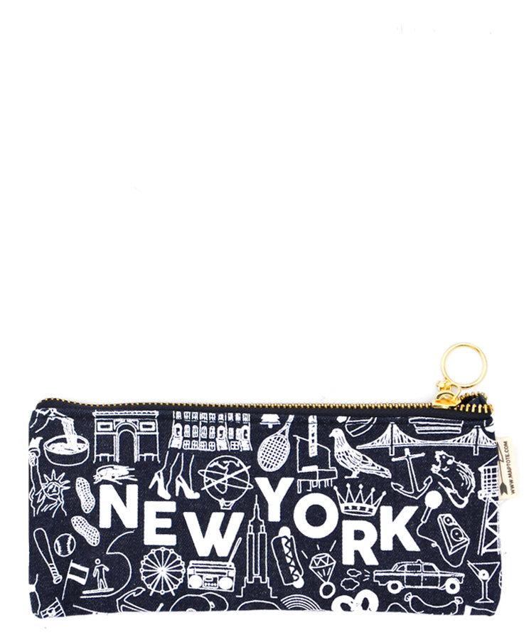 2: New York Pencil Pouch in  - LEIF