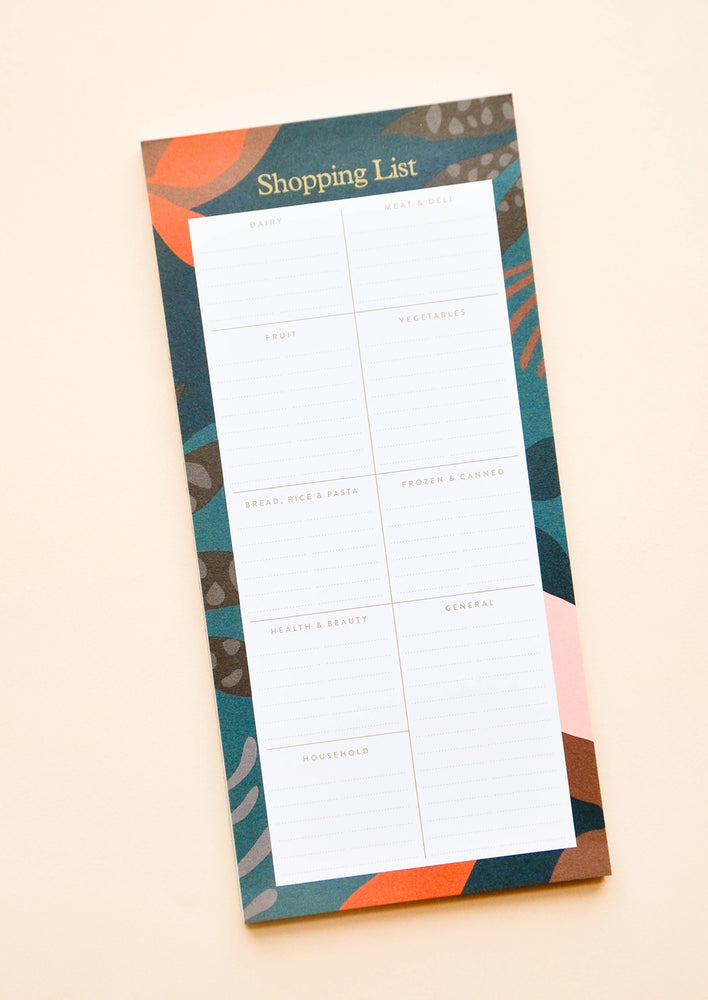 Night Jungle Shopping List Notepad