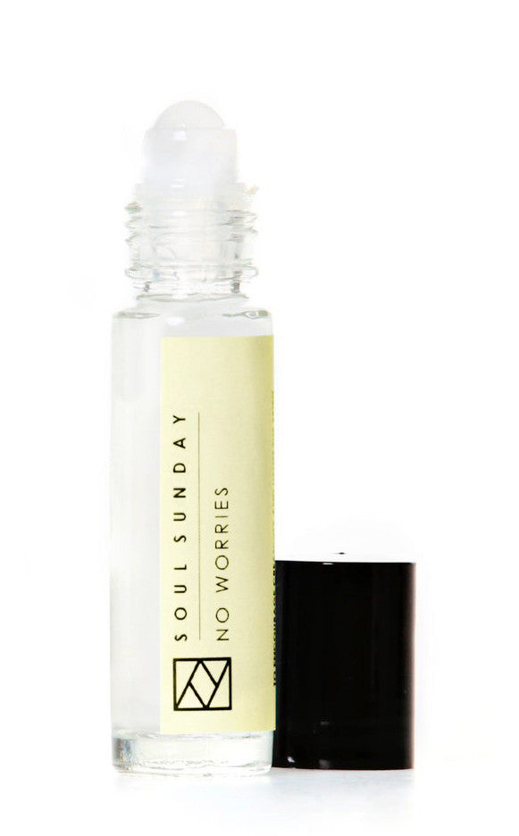 No Worries: Aromatherapy Oil Rollerball in No Worries - LEIF