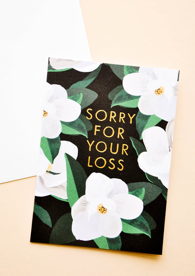 Sorry For Your Loss Card