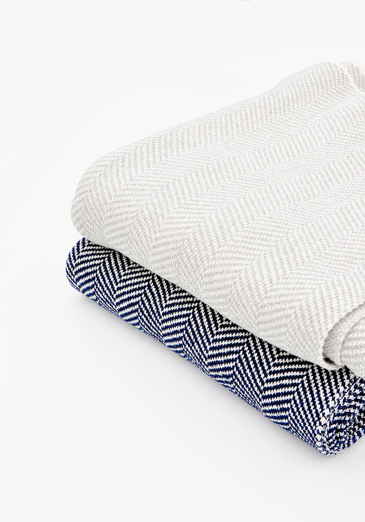 Nordic Herringbone Throw