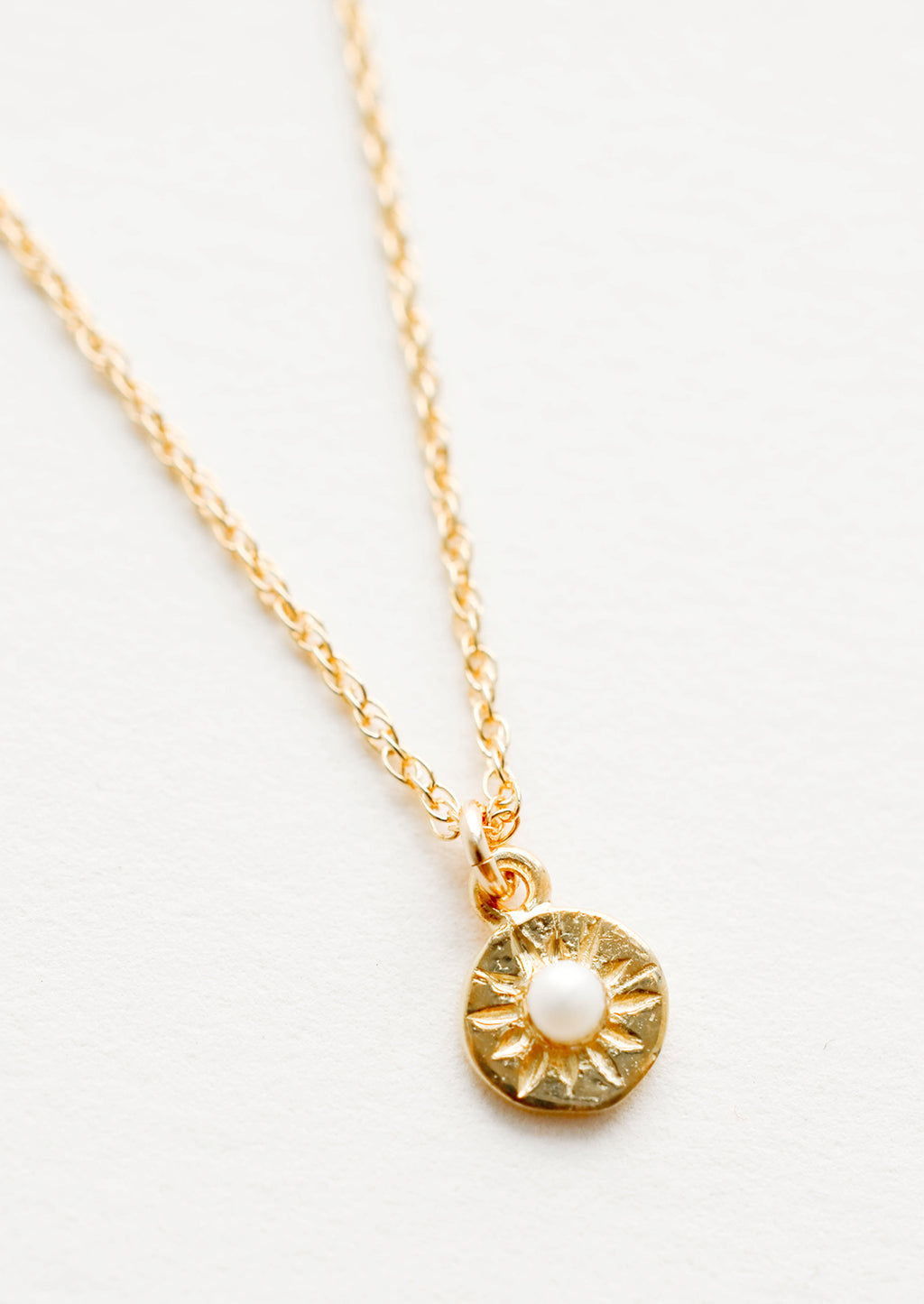 North Star Necklace in Pearl - LEIF