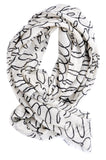 Love Letters Wool Scarf - LEIF