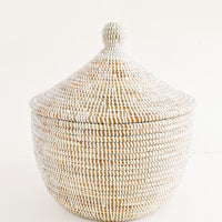 Nyama Sweetgrass Basket