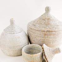 3: Nyama Sweetgrass Basket in  - LEIF