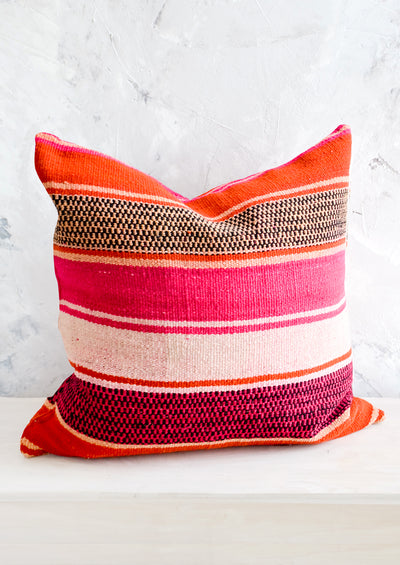 Bolivian Frazada Pillow in Obispo