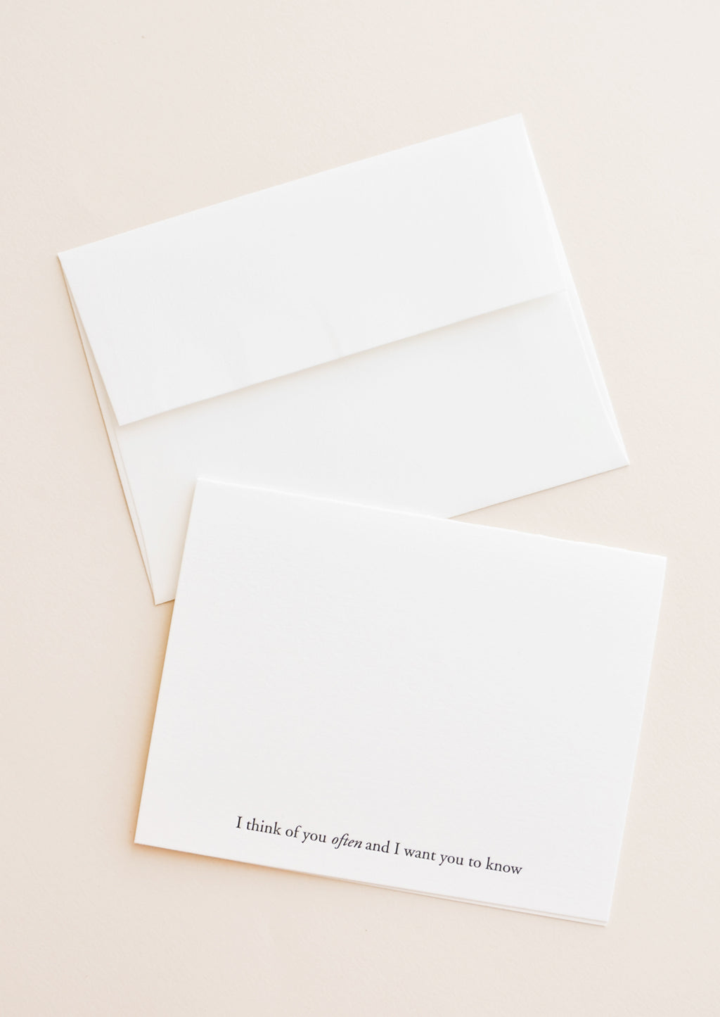 2: I Think Of You Often Card in  - LEIF
