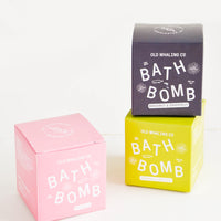 1: Colorful packaging of scented bath bombs