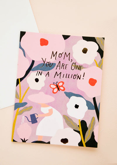 One In A Million Mother's Day Card