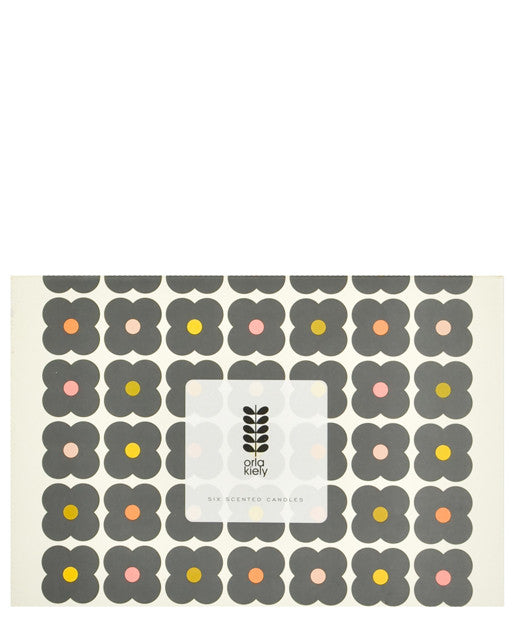 Orla Kiely Mini Candle Gift Set