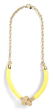 Brookside Necklace in Lemon - LEIF