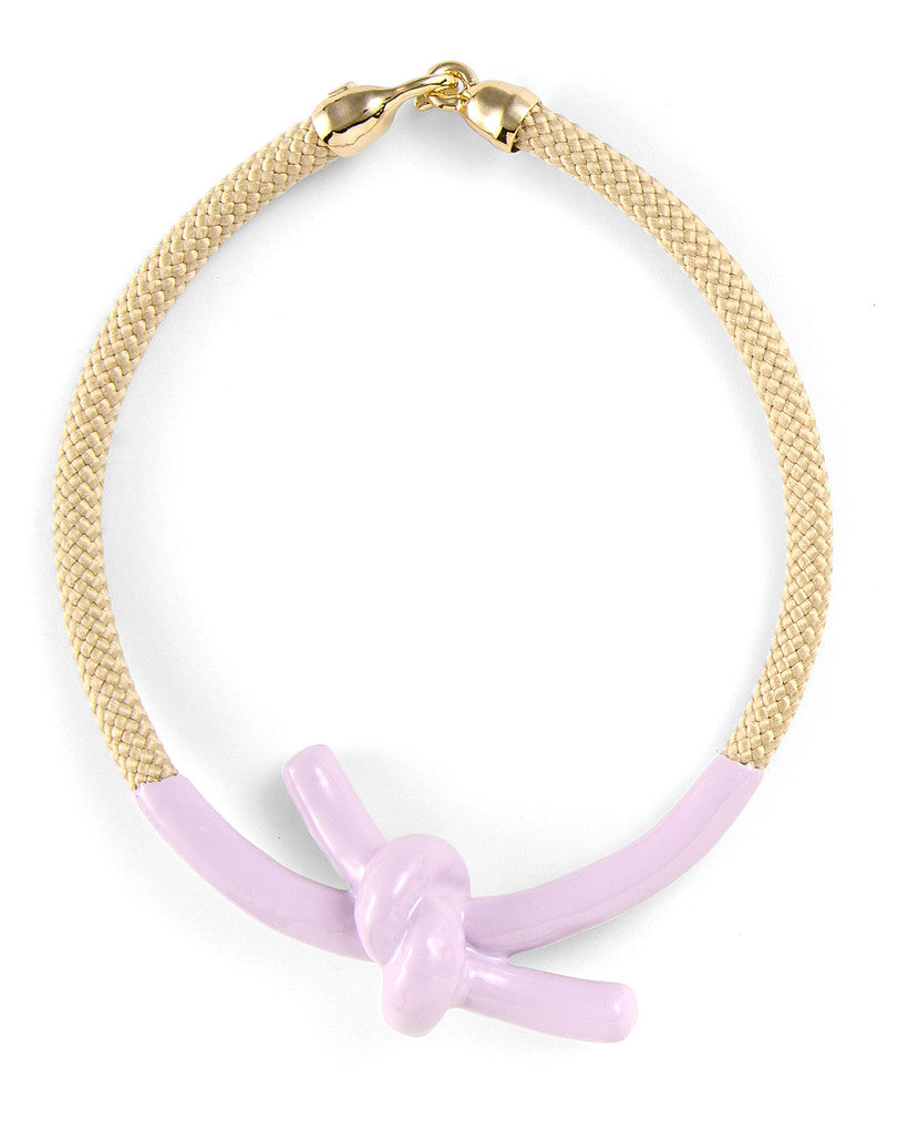 Madelaine Necklace in Lavender - LEIF