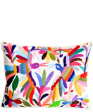 Otomi Embroidered Pillow - LEIF