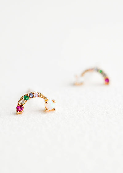 Over the Rainbow Stud Earrings