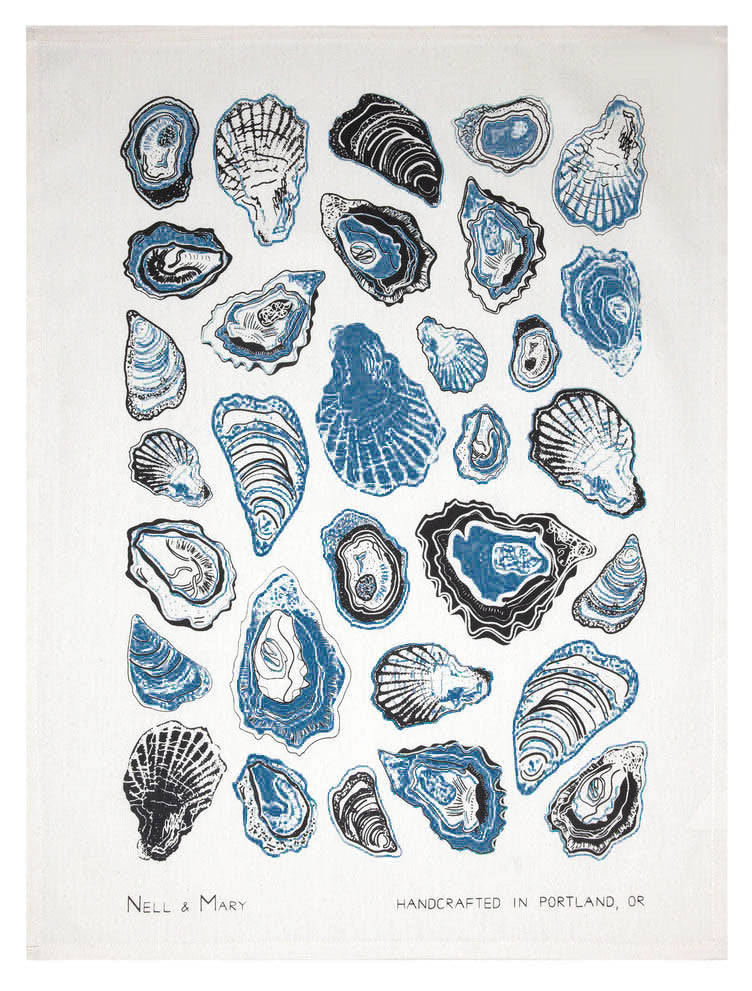 Oysters Tea Towel - LEIF