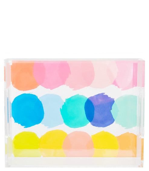 Color Palette Lucite Tray - LEIF