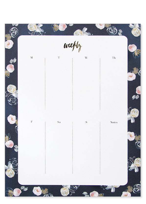Painted Pattern Agenda Pad - LEIF