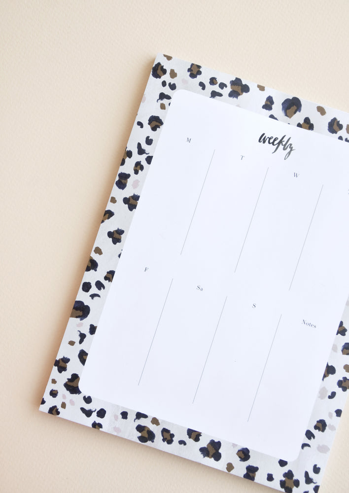 1: Painted Pattern Agenda Pad in  - LEIF