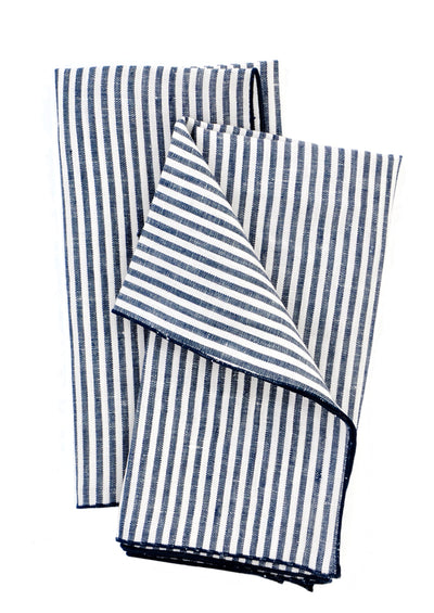 Palette Linen Napkin Set in Stripes