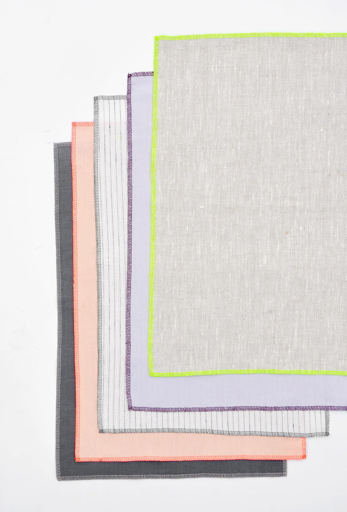 1: Palette Linen Placemat Set in  - LEIF
