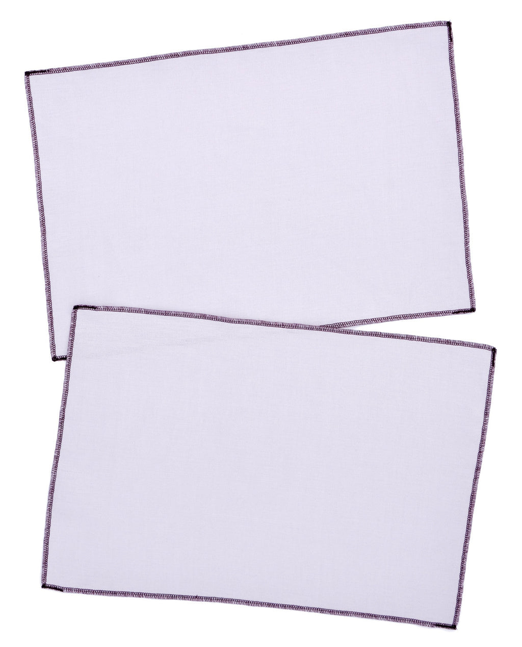 Palette Linen Placemat Set in Taro / Grape - LEIF