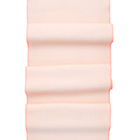 Apricot / Fluoro Red: Palette Linen Table Runner in Apricot / Fluoro Red - LEIF