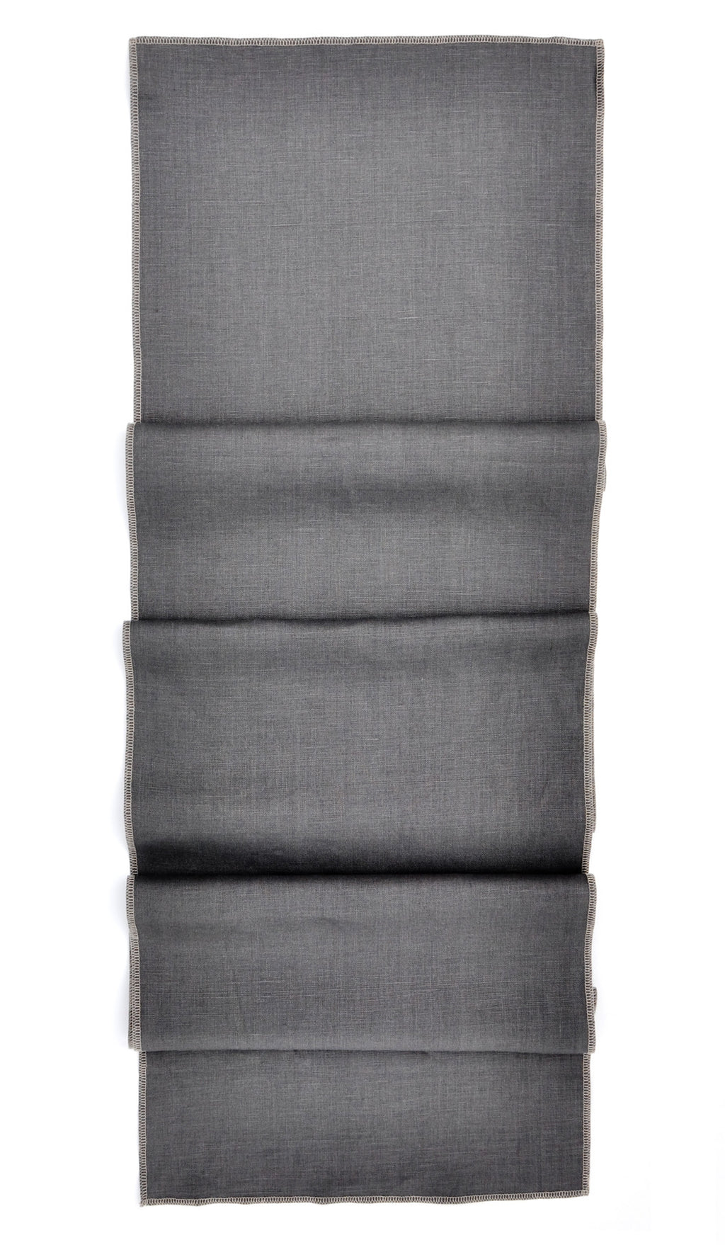 Smoke / Ash: Palette Linen Table Runner in Smoke / Ash - LEIF