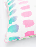 "Pastel Palette Swatch Pillow, 24"" - LEIF"