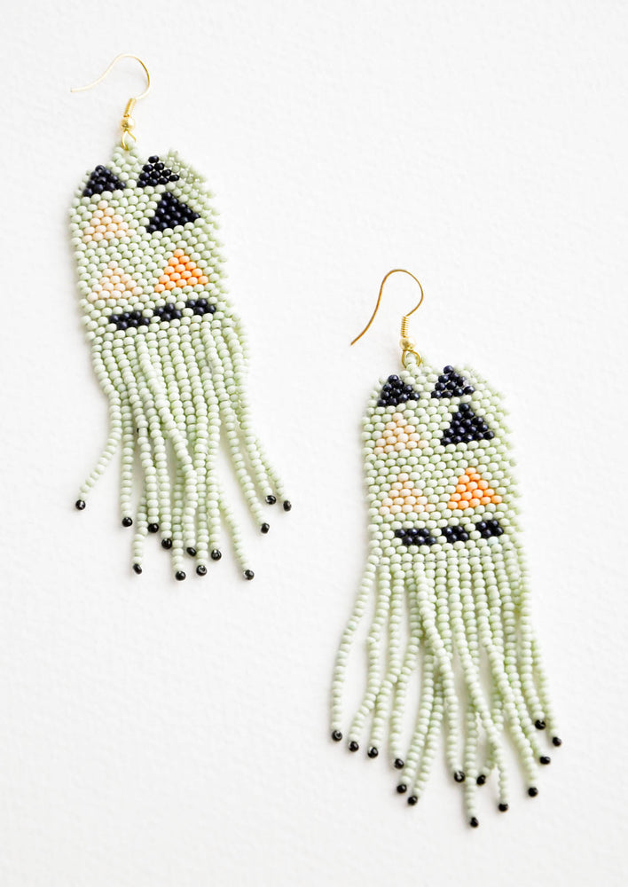 3: Palisades Beaded Earrings in  - LEIF