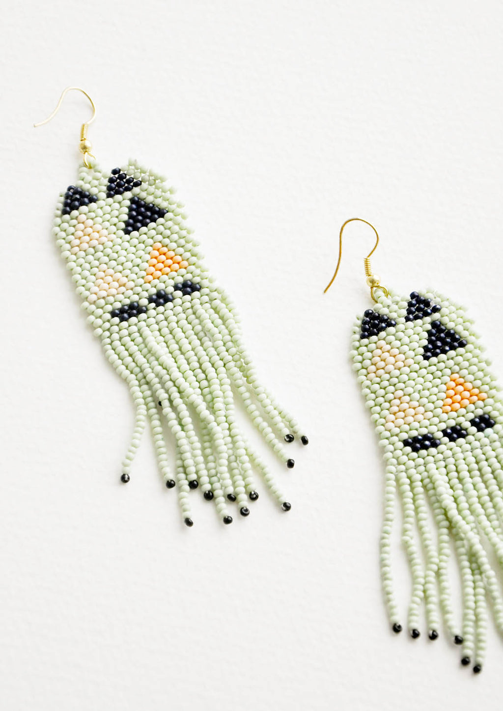 1: Palisades Beaded Earrings in  - LEIF