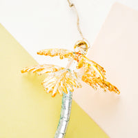 Gilded Palm Tree Ornament