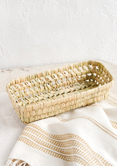 Palm Leaf Storage Tray
