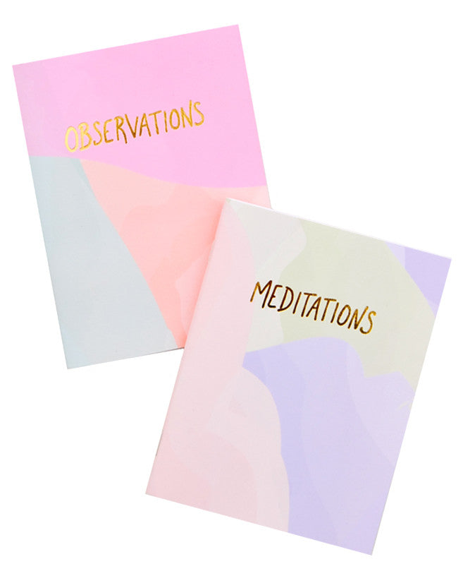 Pastel Pocket Notebook Set - LEIF