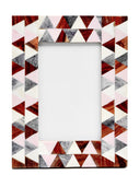 Pastel Triangles Picture Frame - LEIF