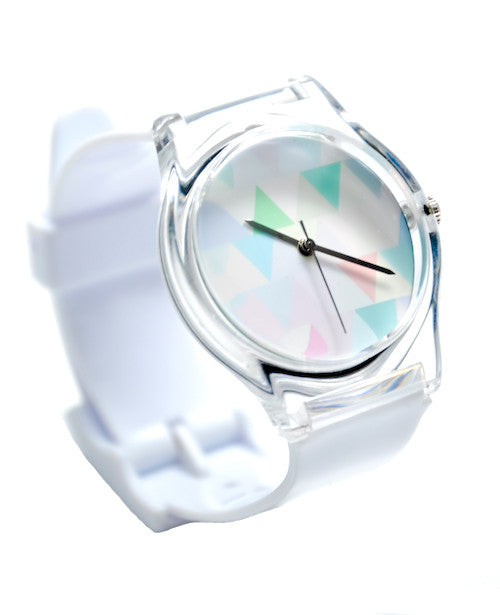 Pastel Triangles Watch - LEIF