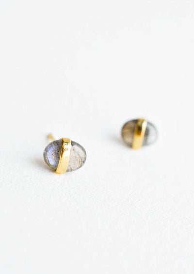 Pebble Gem Earrings